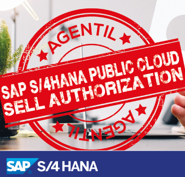 AGENTIL has the S/4HANA Cloud selling authorization