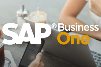 SAP Business One is the ERP to manage all aspects of your small or medium business.