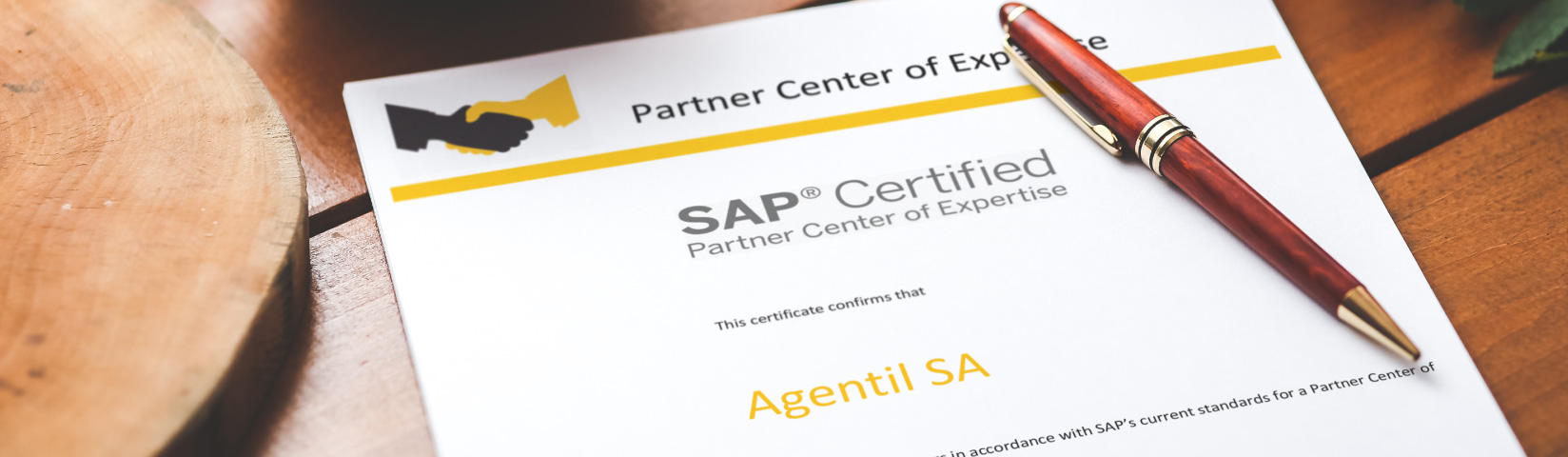 AGENTIL, first company to obtain automatic renewal of SAP PCoE in French-speaking Switzerland
