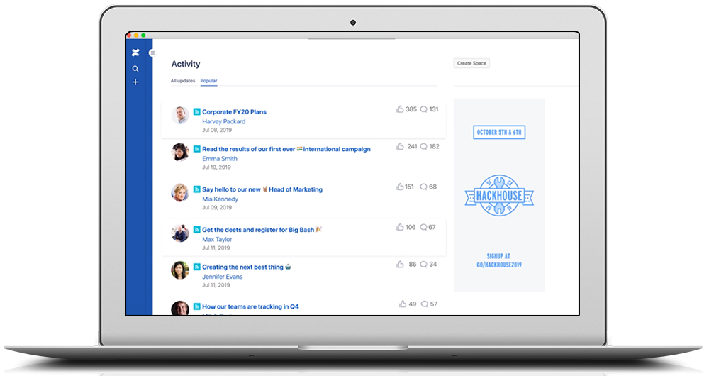Atlassian Confluence Preview