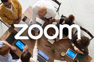 Zoom allows you to join your online meetings anywhere, and on any device.